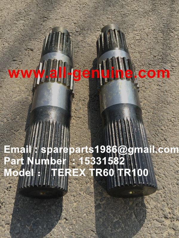 TEREX SANY  RIGID DUMP TR50 TR60 TR100 15331582 PTO SHAFT