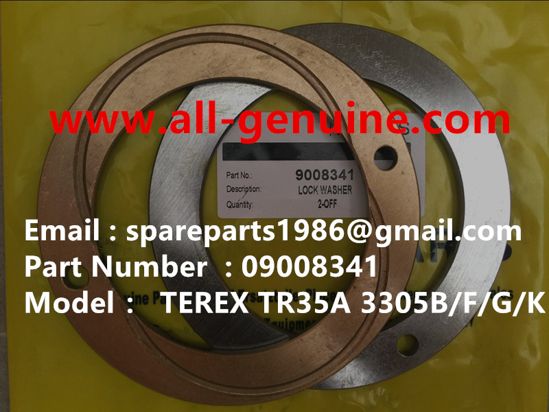 TEREX NHL RIGID DUMP TRUCK TR35 3305B/F/G/K 3303 3307 09008341 LOCKING WASHER