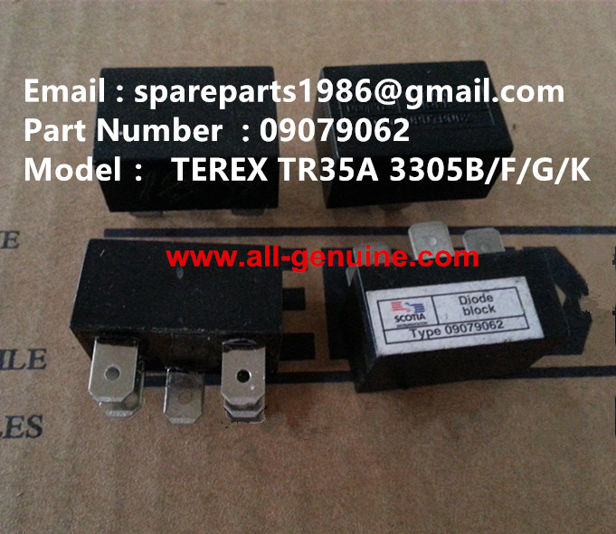 TEREX 3305F DIODE 09079062