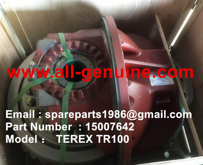 TEREX TR100 DIFFERENTIAL ASSY 15007642