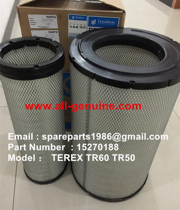 TEREX TR60 TR50 DUMP TRUCK 15270188 Air filter
