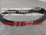 TEREX SANY RIGID DUMP TRUCK CUMMINS TR50 TR60 3103233 ENGINE BELT