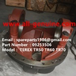 TEREX SANY RIGID DUMP TRUCK TR60 SRT55 09253506 HOUSING