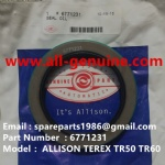 TEREX ALLISON NHL TR35A 3305F/G/K/B RIGID DUMP TRUCK 6771231 OIL SEAL