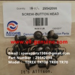 TEREX NHL TR100 ALLISON RIGID DUMP TRUCK 29542098 SCREW BUTTON HEAD