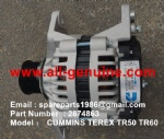 TEREX NHL TR60 RIGID DUMP TRUCK CUMMINS ENGINE 2874863 ALTERNATOR