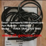 TEREX NHL RIGID DUMP TRUCK TR50 TR60 09410971 O RING