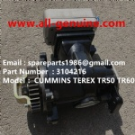 TEREX NHL TR50 TR60 RIGID DUMP TRUCK CUMMINS ENGINE 3104216 AIR COMPRESSOR