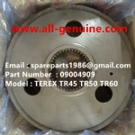 TEREX NHL MINING OFF HIGHWAY RIGID DUMP TRUCK CUMMINS ENGINE TR50 TR60 09004909 INNER GEAR RING