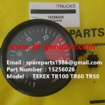 TEREX OFF HIGHWAY MINING RIGID DUMP TRUCK HAULER NHL CUMMINS ENGINE TR45 TR50 TR60 15256026 TACHOMETER