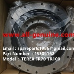 TEREX RIGID DUMP TRUCK HAULER OFF HIGHWAY TRUCK HAULER TR60 TR70 TR100 15309162 FLY WHEEL COUPLING