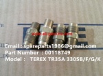 TEREX 3305F CONNECTOR 00118749