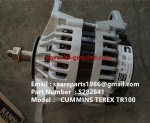 TEREX TR100 DUMP TRUCK 5282841 CUMMINS ALTERNATOR