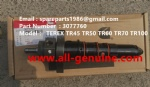 TEREX SANY CUMMINS KTA-38C SRT95 TR100 RIGID DUMP TRUCK 3077760 OIL INJECTOR